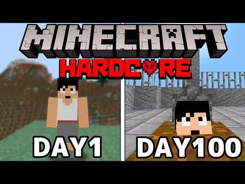 【マイクラ】ハードコアで100日生き延びてみたら衝撃のラストを迎えてしまった。。。100days Minecraft