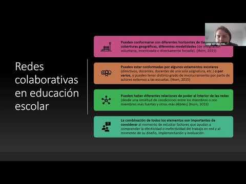 Conversatorio: Redes colaborativas para la innovación y el mejoramiento educativo en pandemia