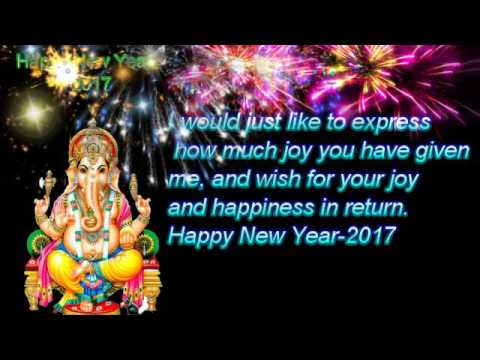 Happy New Year Wishes For Best Friends Youtube