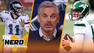 Wentz trade to Colts is a win for NFL, WFT & Bears should move on Darnold - Colin | NFL | THE HERD