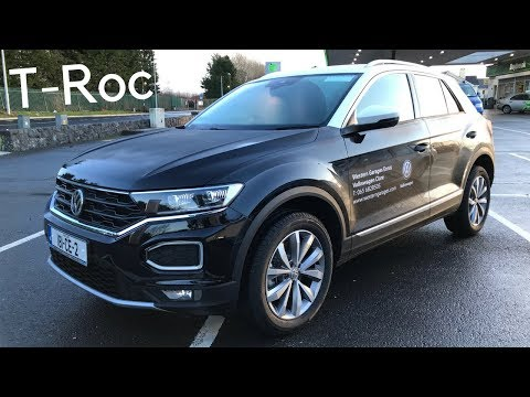 2018 Volkswagen T-Roc Compact SUV - Full Tour & Test Drive - Stavros969