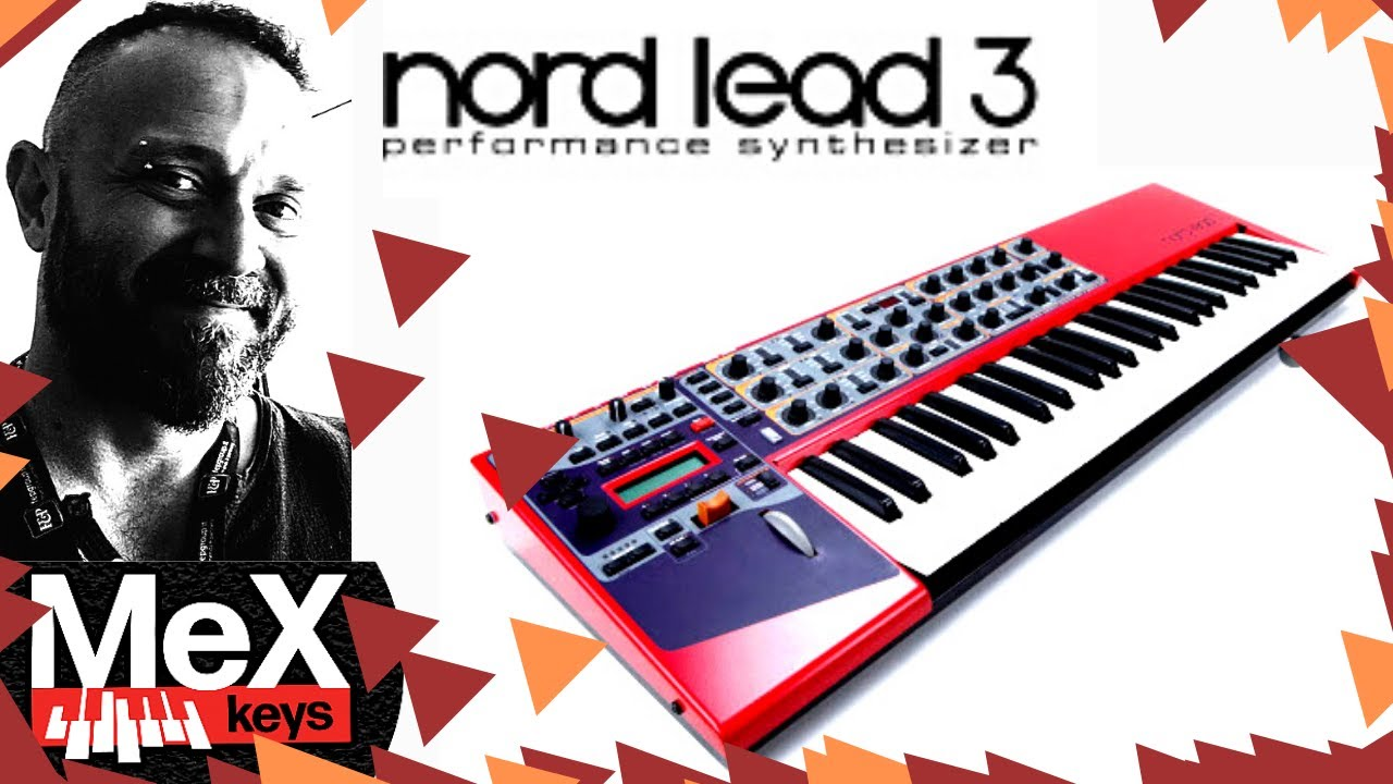 Nord Lead 3 by MeX @Synth Cloud  (Subtitles)