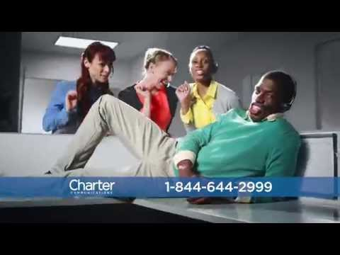 Charter Triple Play Commercial- Dancing in Office