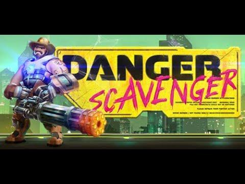 Danger Scavenger   Neon Action Combat Awesomeness  