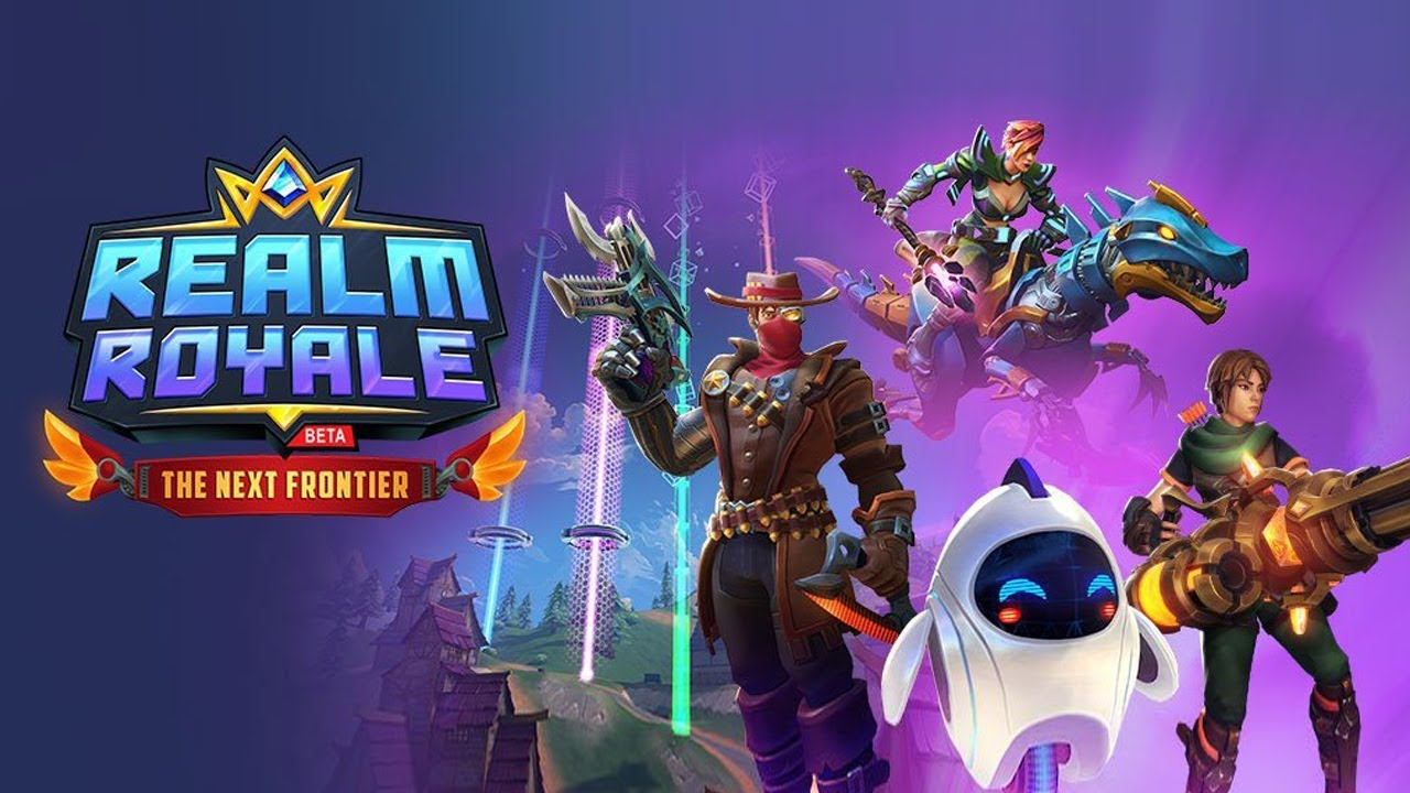You Can Ride a Mechanized Dinosaur with Realm Royale Battle