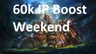 How to grind 60k IP in IP boost party weekend: League of Legends(, 2016-01-26T20:40:56.000Z)