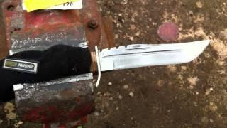 Нож ручной работы, шлифовка, полировка.(Заходите на мой второй канал связанный с компьютерными играми: https://www.youtube.com/channel/UCICixJgONIzKA8b9QPDhmMA., 2013-08-05T21:56:13.000Z)
