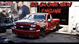 SS CLONE NEW ENGINE  (NO MORE V6) LS SWAP