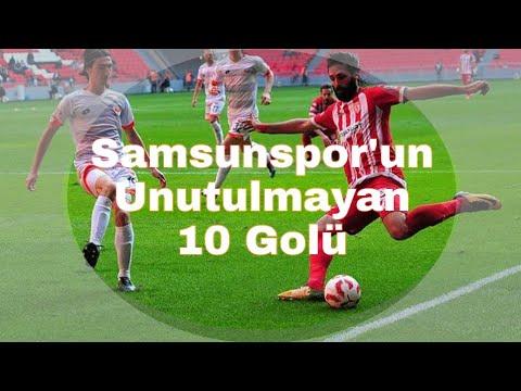 Samsunspor'un Dünden Bugüne Unutulmayan 10 Golü