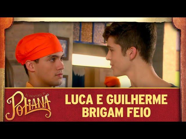 Luca e Guilherme brigam feio | As Aventuras de Poliana