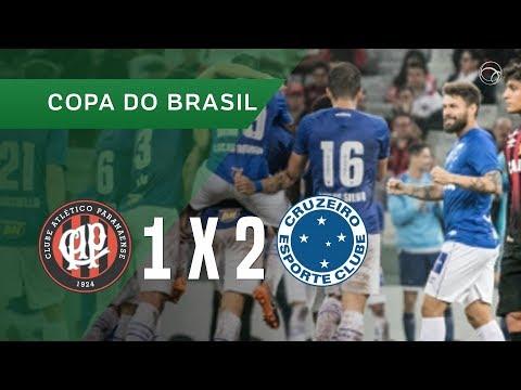 ATLÉTICO-PR 1 X 2 CRUZEIRO - 16/05 - COPA DO BRASIL 2018