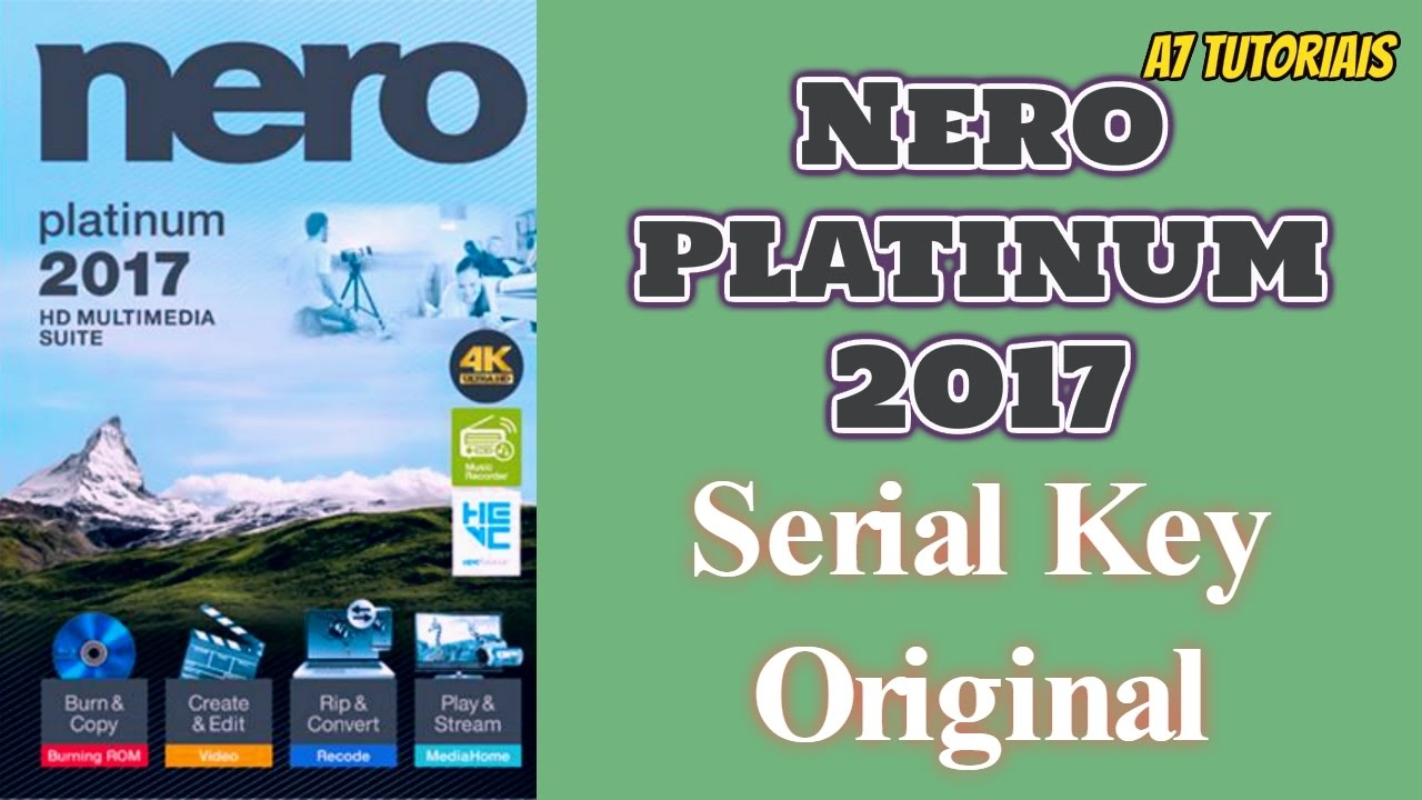 nero 2017 trial serial number