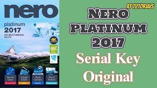 Nero 2017 Platinum + Serial Key Original