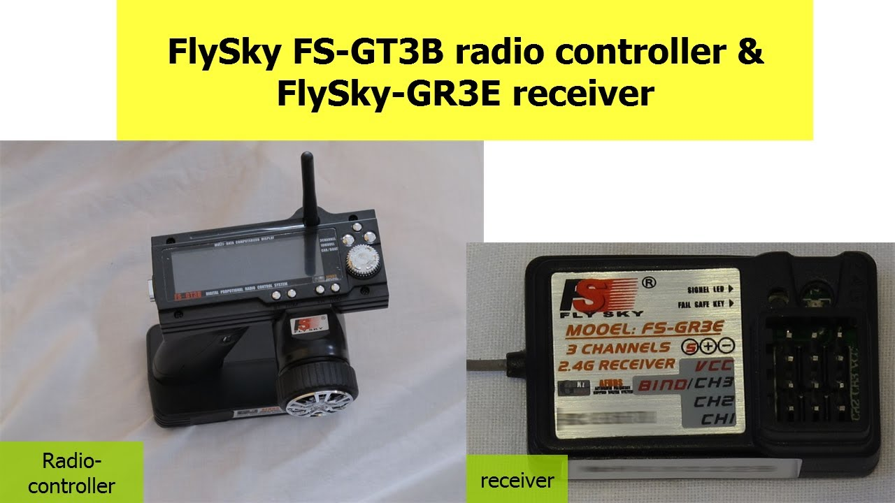 Flysky Fs Gt3b Radio Control Gr3e Receiver How To Video Tutorial Circuit Schematic Diagram Transmitter And Youtube