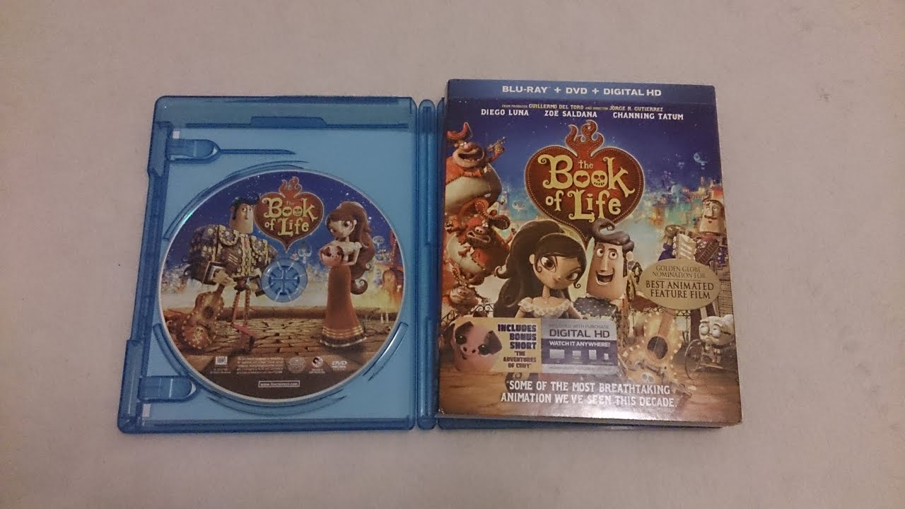 The Book Of Life Blu Ray Unboxing Youtube