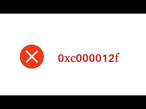 How to fix Error 0xc000012f on windows 10
