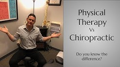 Physical Therapy vs. Chiropractic; Which is Right for You?