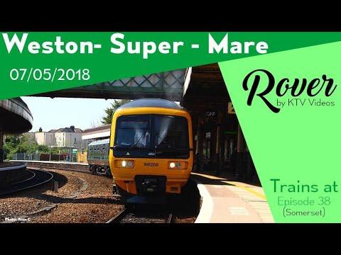 Trains at Weston-super-Mare, GWML - 7/5/18