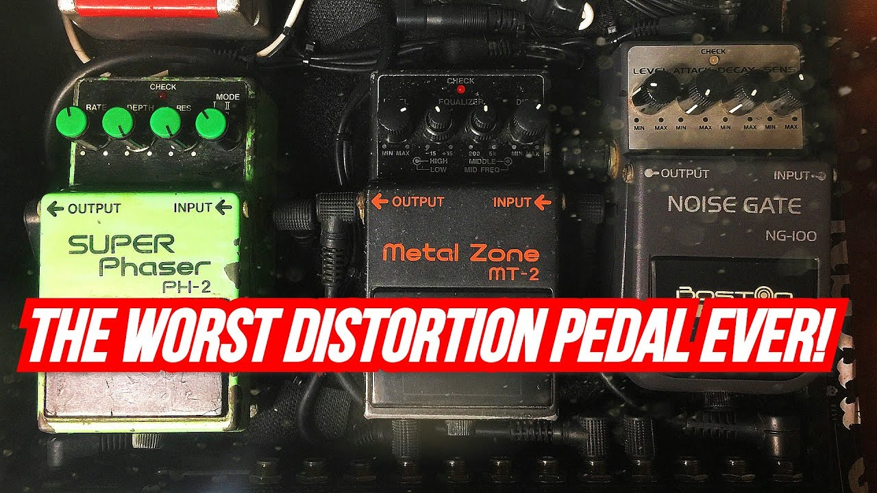 """Download Boss MT-2: """"The Worst Distortion Pedal Ever!"""""""