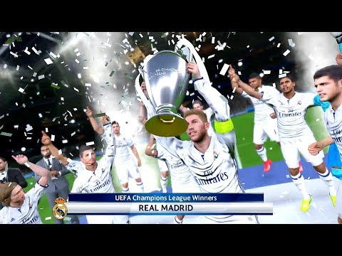 PES 2017 JUVENTUS F.C. VS. REAL MADRID C.F. UEFA CHAMPIONS LEAGUE FINAL MATCH HIGHLIGHTS