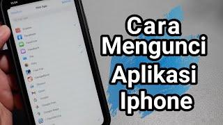 Cara Mengunci Aplikasi iphone 2021 #Part 1 screenshot 5