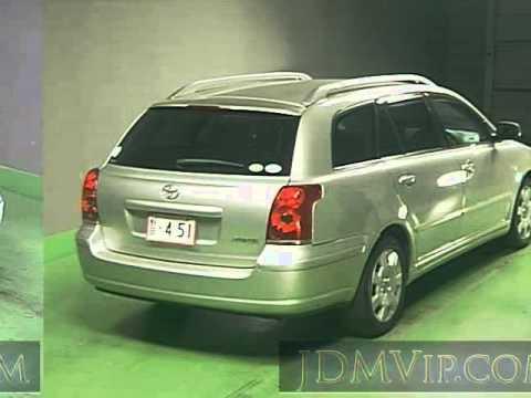 2004 toyota avensis wagon xi azt250w - youtube