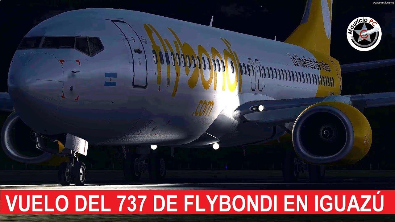 El avión que quiso despegar antes de tiempo - Flybondi 5111 en Iguazú