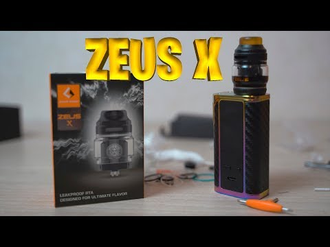 ✔ Geekvape Zeus X RTA 4,5 мл ✔Лучший ?