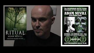 Birmingham Horror Group, 2017-02-04: Adam Nevill on The Ritual