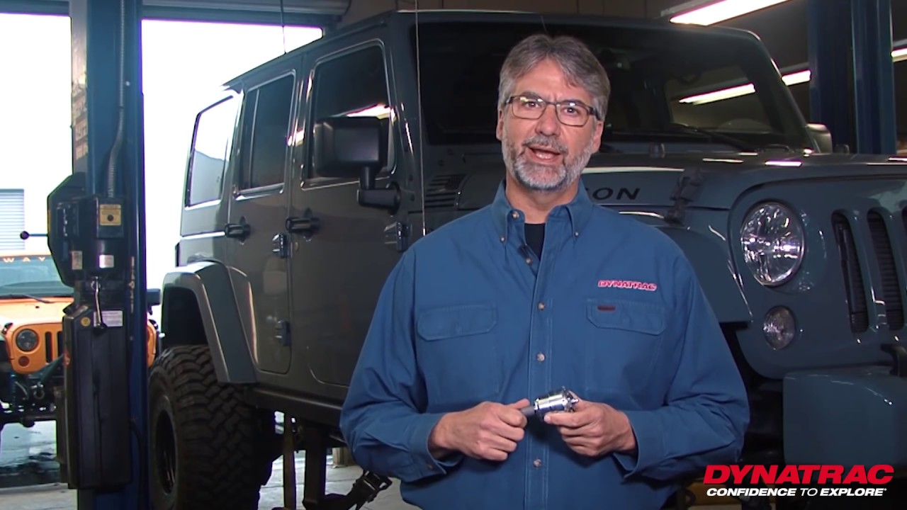 How to Install Dynatrac HD Rebuildable Balljoints in a Jeep Wrangler JK