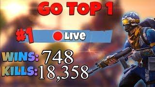 [FR/PC/LIVE] Fortnite en solo 745 wins!  lvl 85 / 100