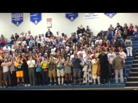Yale High School, MI Student Section