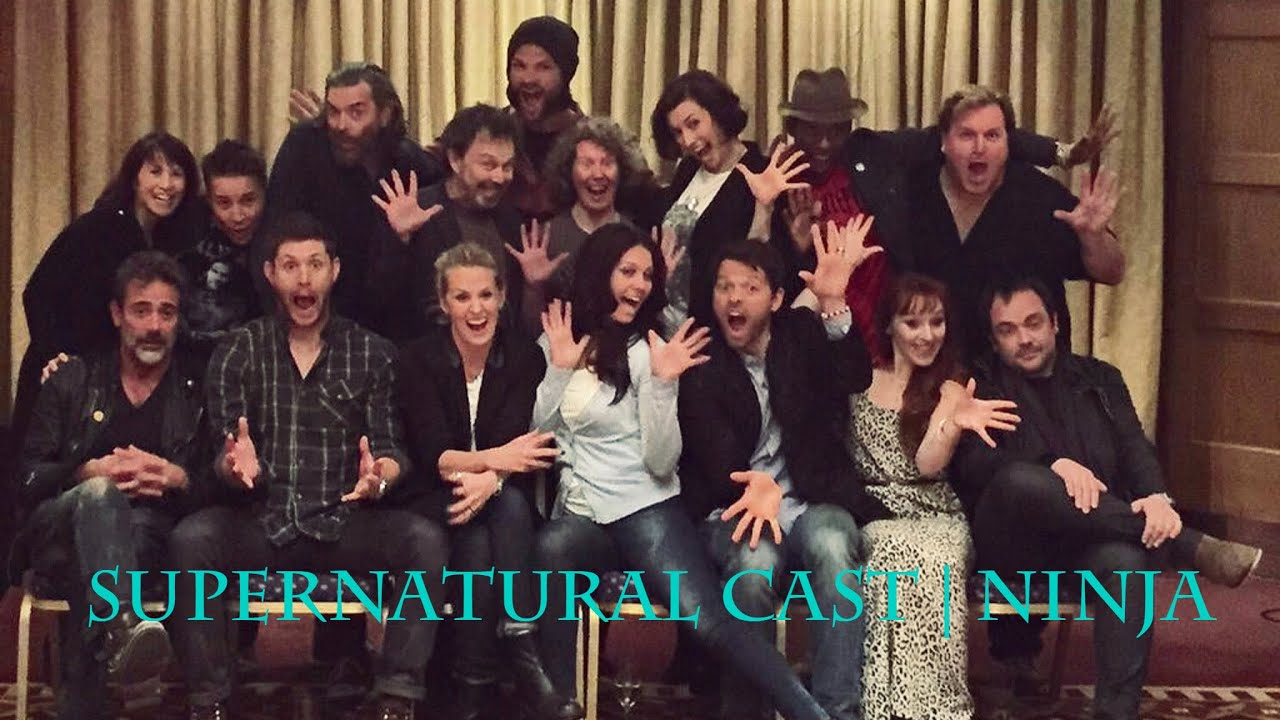 Supernatural Cast | Ninja - YouTube
