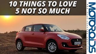 New 2018 Swift : 10 Things to Love, 5 Not so Much