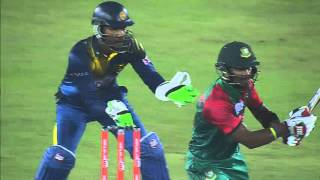 Bangladesh vs Sri Lanka I Asia Cup 2016 I Sabbir Rahman