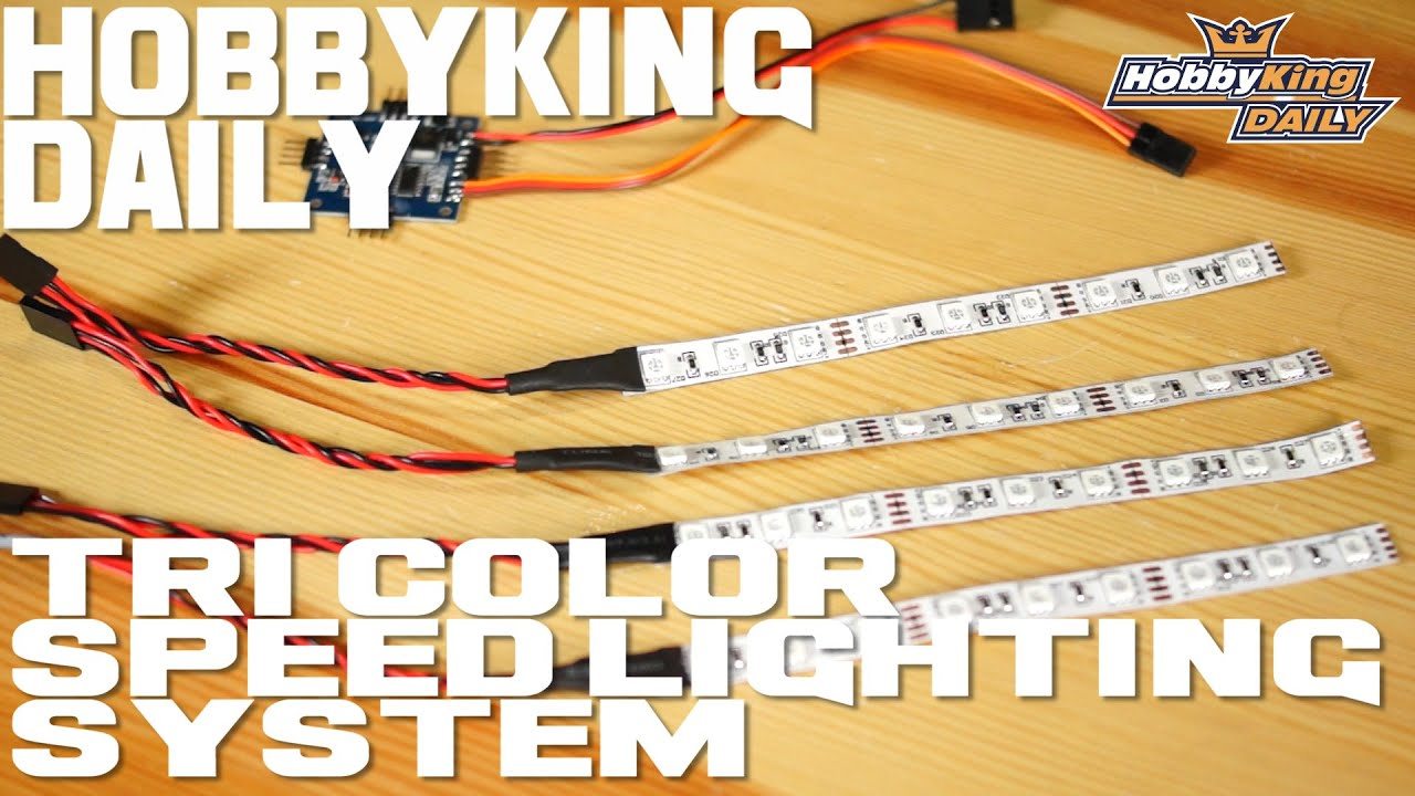 Quadcopter Tri Color Lighting Speed Led System Hobbyking Daily Wiring Of A Youtube