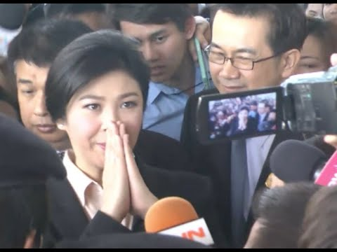 Thai Ex-PM Attends Supreme Court's First Hearing on Rice Scandal