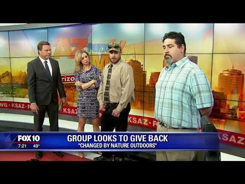 Changed by Nature Outdoors looks to give back to disabled veterans, underprivileged children