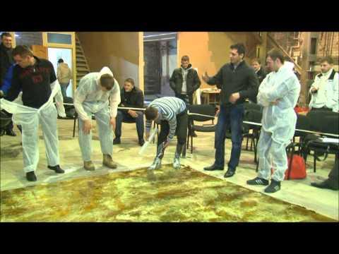 видео: Эксклюзивные наливные полы от Поли-Флоор