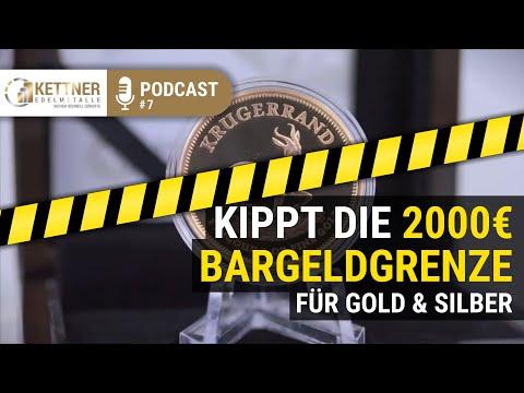 Doch Keine 2000 €-Bargeld-Obergrenze Für Gold & Silber?  (Podcast #7)