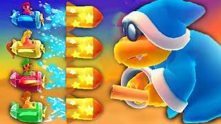 Mario Party 10 - Minigames - Mario vs Luigi vs Peach vs Daisy (Master Difficulty)
