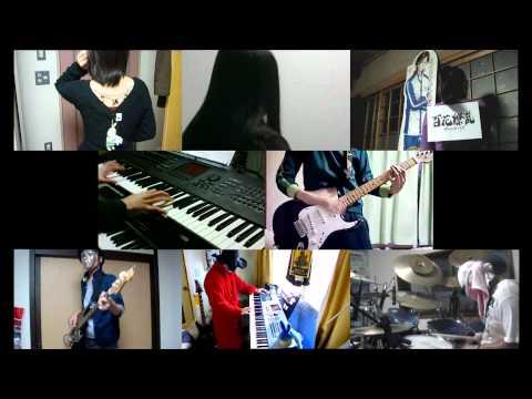 [HD]Hyakka Ryouran Samurai Girls ED [Koi ni Sesse Tooryanse] Band cover