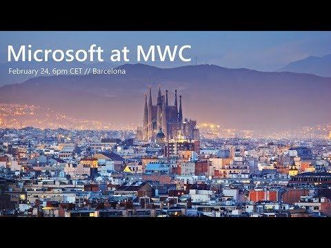 Microsoft at MWC19 Barcelona