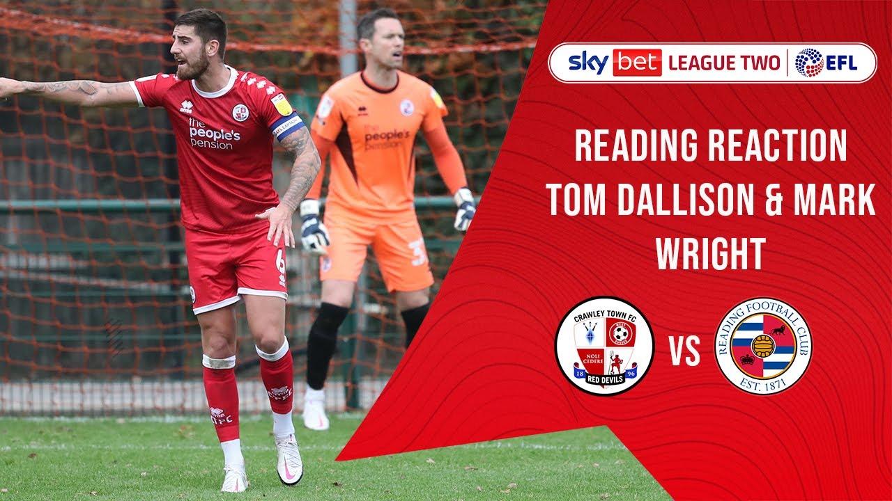Reading Reaction Tom Dallison Mark Wright Youtube