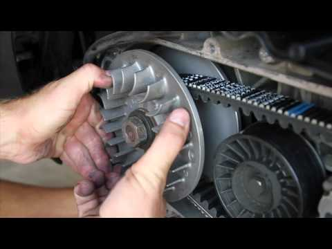 Piaggio MP3 400 - CVT parts installation