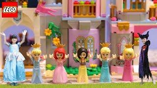 プリンセスたちのお城が合体できる!?LEGO Disney シンデレラのお城
