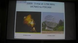VK7MO - Gippstech2016 10GHz QRP Earth Moon Earth (EME)