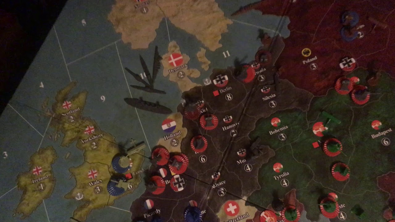 how to win axis and allies as germany