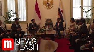 Jelang Pelantikan, Jokowi Bertemu Sultan Brunei Darussalam
