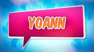 Joyeux anniversaire Yoann